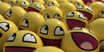 3d Smiley Face L Twitter Covers