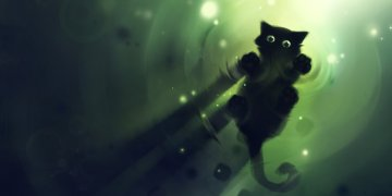 Abstract Cats L Twitter Covers