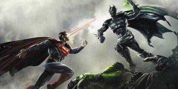 Batman Superman L Twitter Covers