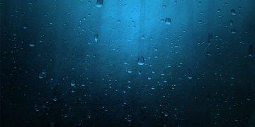 Blue Minimalistic Rain L Twitter Covers