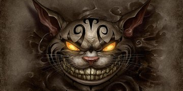 Cheshire Cat L Twitter Covers