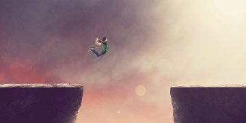 Cliffs Jumping L Twitter Covers