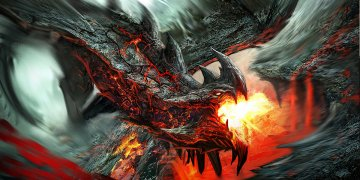 Dragons Fantasy Art L Twitter Covers