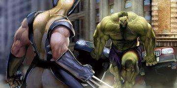 Hulk And X Men L Twitter Covers