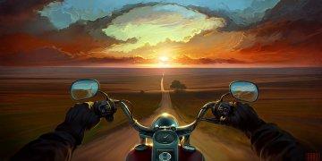 Motorbikes Twitter Covers
