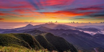 Sunset Mountains Clouds L Twitter Covers